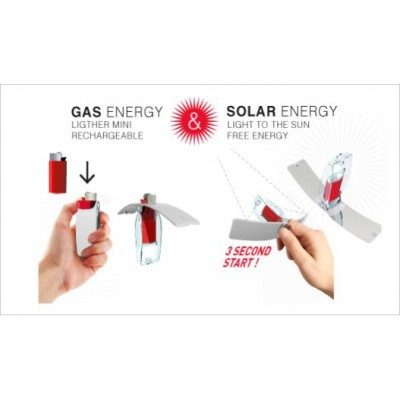 Mecheros solares (20 unidades)