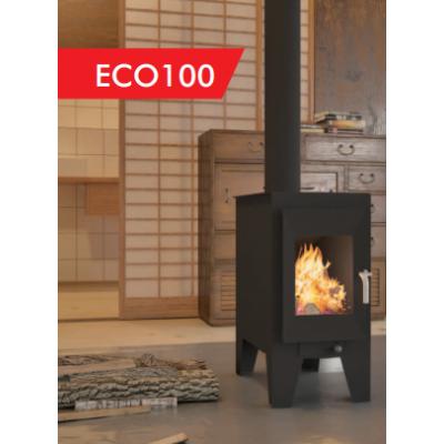Estufa de leña BOREAL modelo ECO100