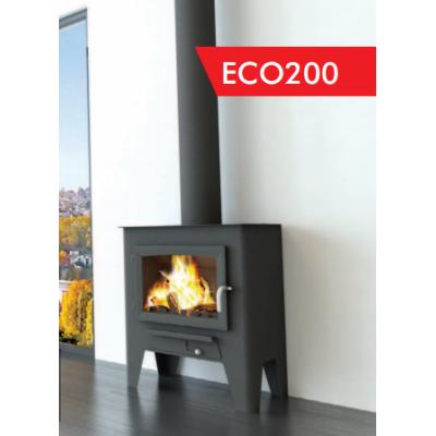 Estufa de leña BOREAL modelo ECO200