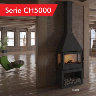 Chimenea BOREAL Serie CH5000