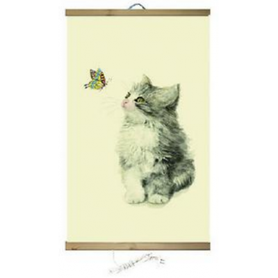 Poster calefactor gatito