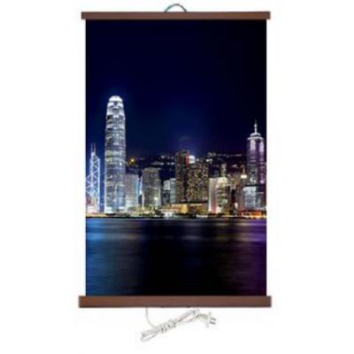 Poster calefactor Hong Kong