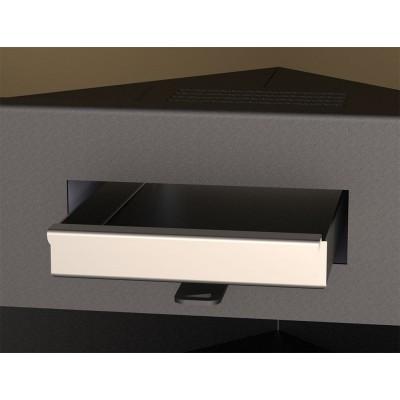 Estufa BRONPI GIJON-H detalle cajón cenizas